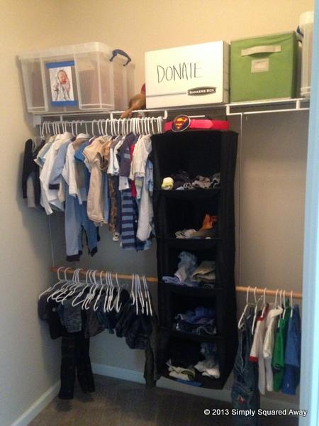 boys closet