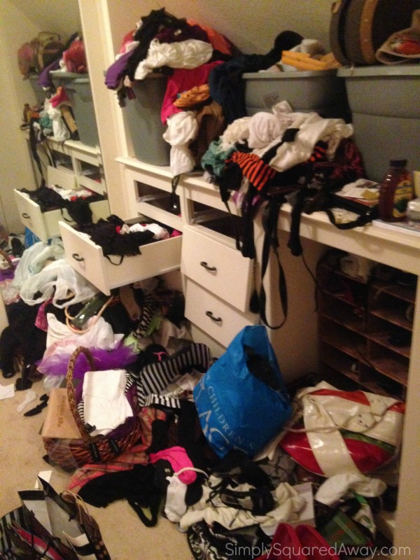 The ULTIMATE closet makeover...Before pictures.