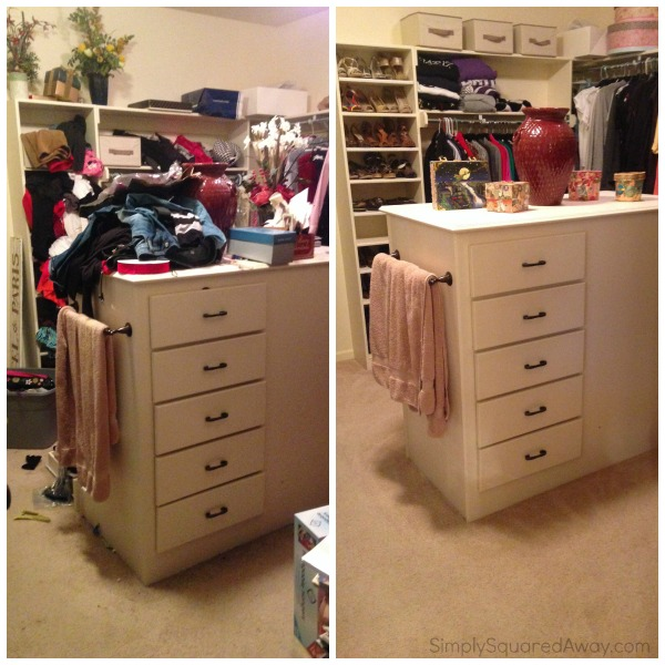 The ULTIMATE Closet Organizing Makeover   AFTER Pictures!