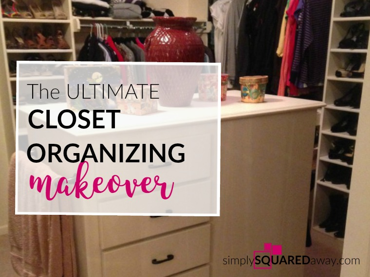 You wake up one day and your closet is overwhelming. Your closet needs a makeover, an overhaul.