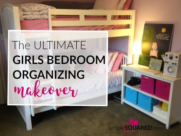 This is the ultimate girls bedroom makeover. Teach your children early how to keep organized.