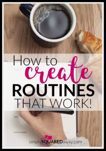 Successful people are routine people. Think of someone successful. They have routines established and because of this they get things done.