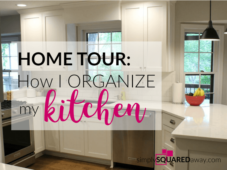 During the remodel I went through every single item in my kitchen. I tried to get rid of as much as I could. I donated at least 2 full boxes before packing everything. I have included links to kitchen and organizing products