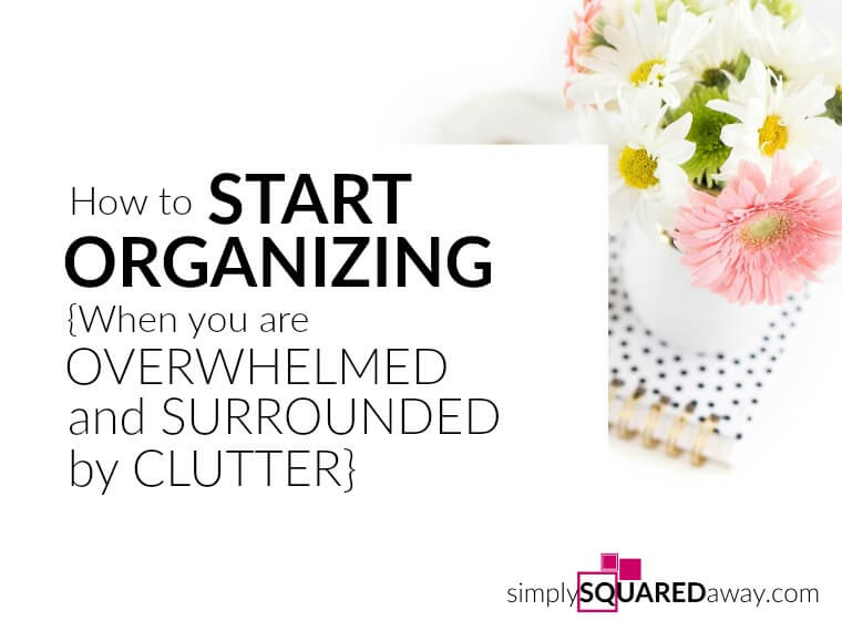 What do we do when our homes are a wreck and we feel overwhelmed by clutter? How do we start organizing when our whole house needs help?