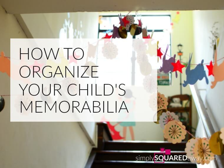 All of your child's memorabilia, even though it is precious and cute, can be overwhelming. What can you do? Here is THE solution!