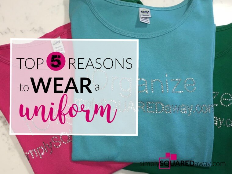 Why wear a work or school uniform? Here are my TOP 5 REASONS for 'The Uniform'!