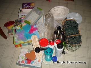 kitchen donate items