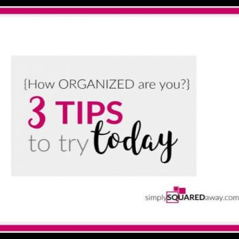 Follow these simple organizing steps to get your space organized. Plus, download these articles to learn more.