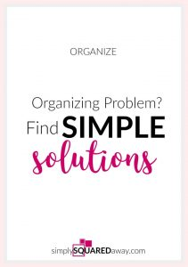 A solution that will work for you long term will most likely be VERY simple. The more simple the solution the more likely you will be to implement and keep using it. Never buy a system that is complicated.