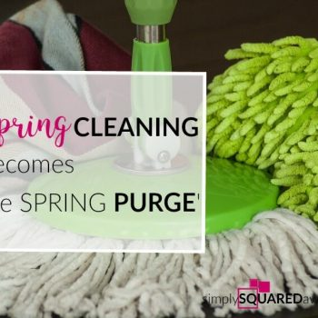 Spring cleaning can be done, one step at a time. Break it down and do a little each day and each week. Set deadlines for yourself. Free spring cleaning printables.