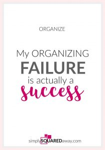 What have you failed at recently? No matter if you don't meet your goals, you are a SUCCESS because you tried!