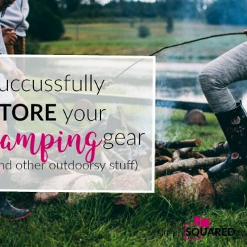 Do you ever wonder how to store and organize your camping and outdoor gear? Once all of your camping items are organized and smartly stored within your storage bins and camping containers, finding the space for them is not nearly as tough as it was before.