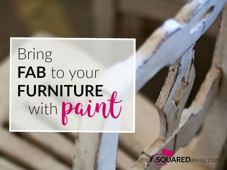 You want to give your room a makeover, but you know that changing out your outdated furniture is expensive and impractical. You can give your furniture a fabulous update by just adding a bit of color to it. Let our easy tips guide you on how to give your old, but still functional, furniture an upgrade.