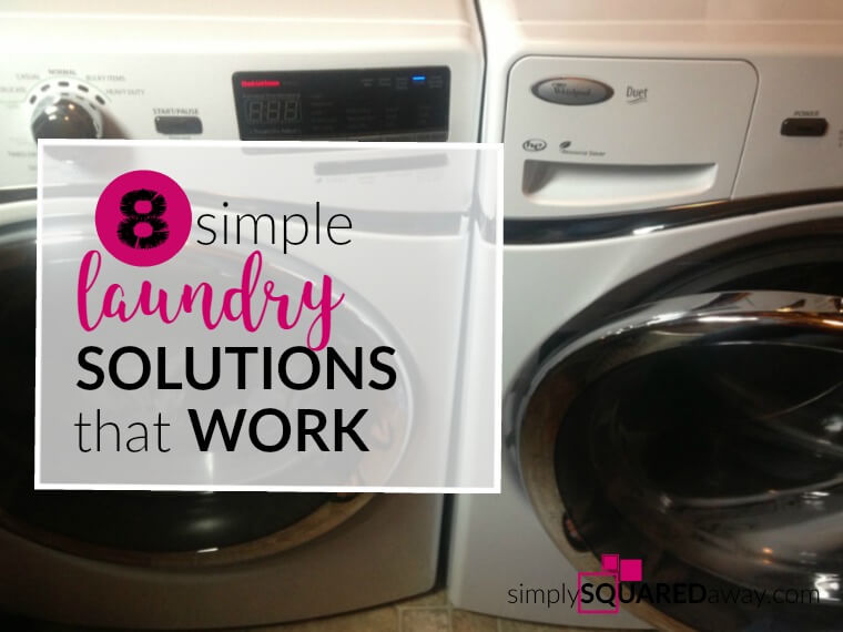 Here is a little secret...I kind of enjoy laundry. But, as a professional organizer in people's homes, I have seen that laundry can be the most overwhelming, despised task of all time.