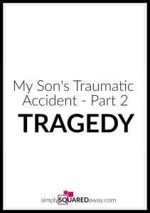 Here is Part 2 of the story of my 15 year old son's traumatic accident where he suffered a C5-C6 spinal cord injury and became a quadriplegic.