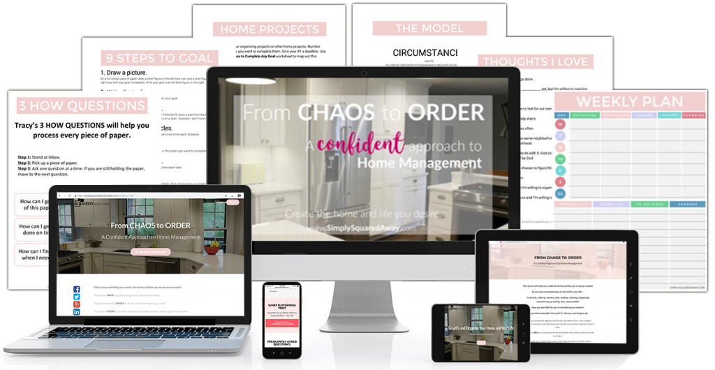 Purchase From Chaos to Order and learn a confident approach to home management.