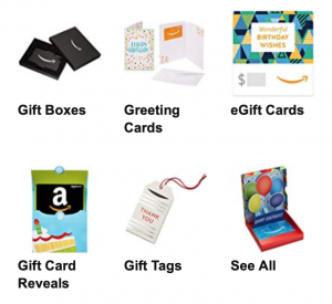 Amazon gift cards are the best clutter free gift ideas!