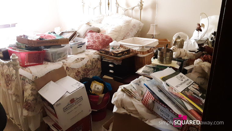 Coaching can help you get organized. See my client's before and after pictures of her home.