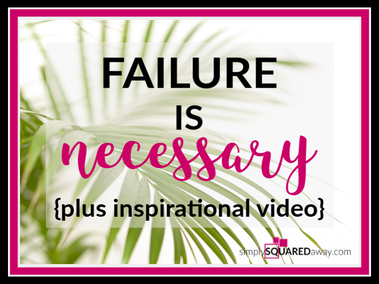 Failure-is-necessary