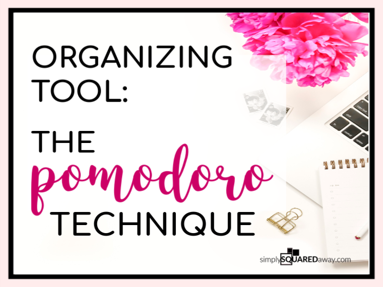 Use this organizing tool to help you get organized! It might even get noticed by your significant other.