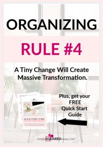 Organizing Rule #4 - Make one tiny change at a time to create massive organizing transformation.