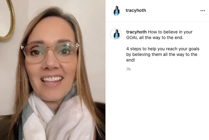 In my Instagram IGTV I share 4 tips to help you reach your organizing goals.